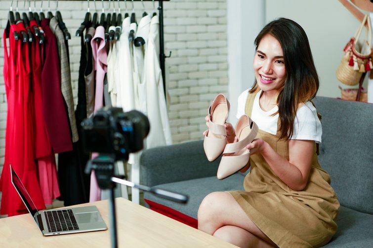 Online Businesswoman