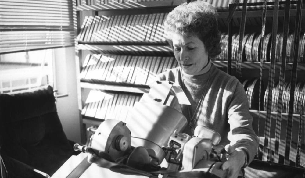 Honoring the Film Editing Legacy of Industry Pioneer Anne V. Coates