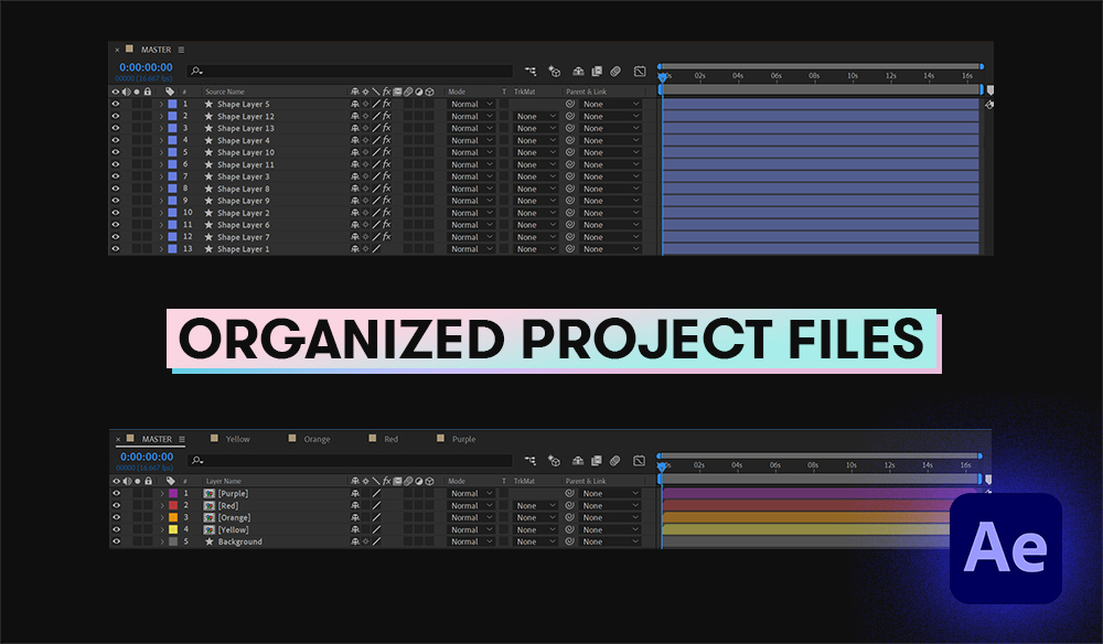 4 Clever Tips for Organizing Your After Effects Project