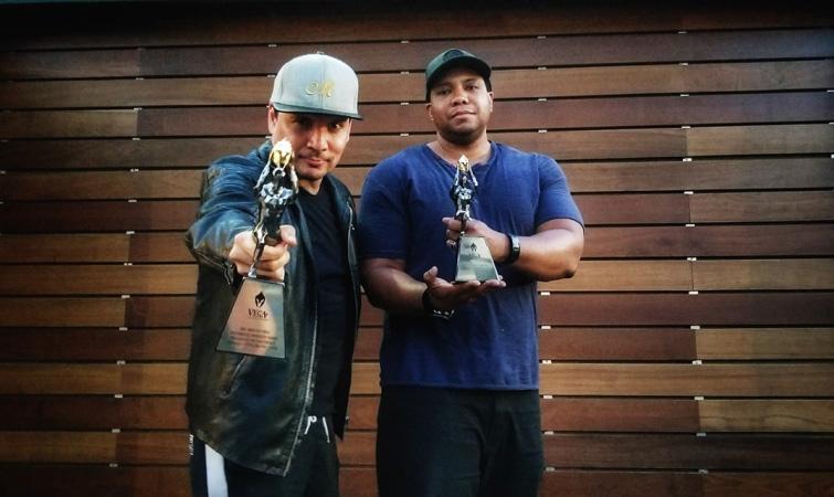 Mix Master Mike and Jonathan Winbush