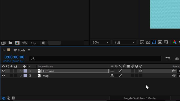 Set Layers to 3D