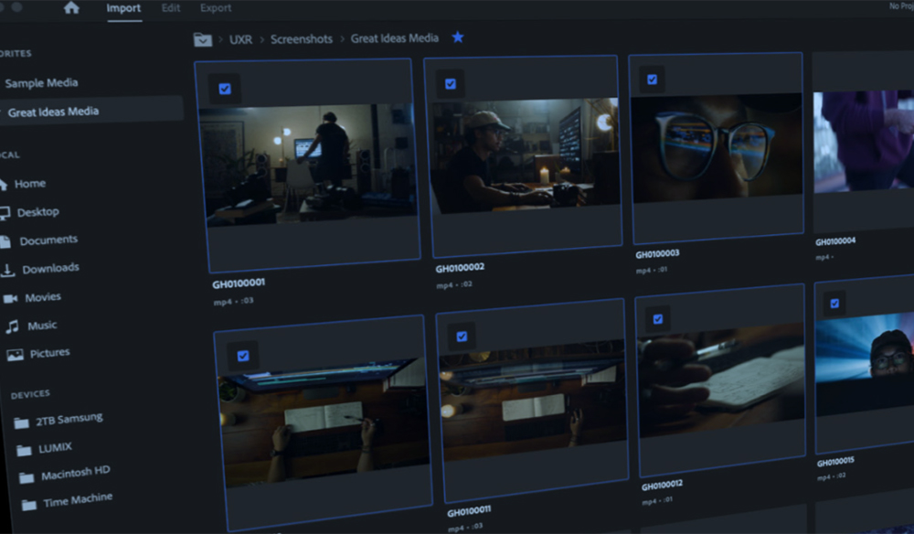 New Premiere Pro Public Beta: Adobe Reimages Import/Export Workflows