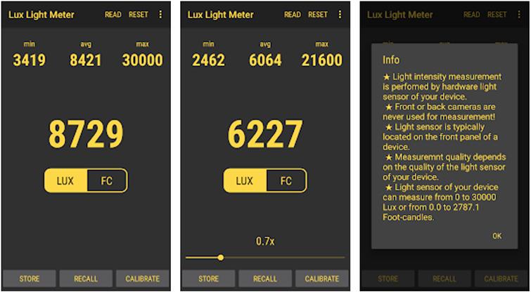 Lux Light Meter Free