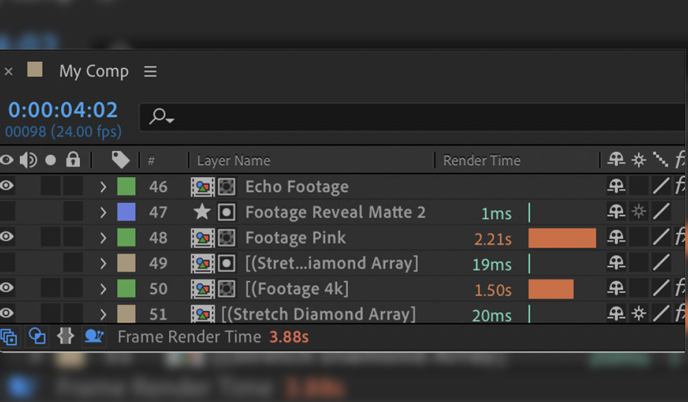 The After Effects Tool You Always Wanted: The Composition Profiler