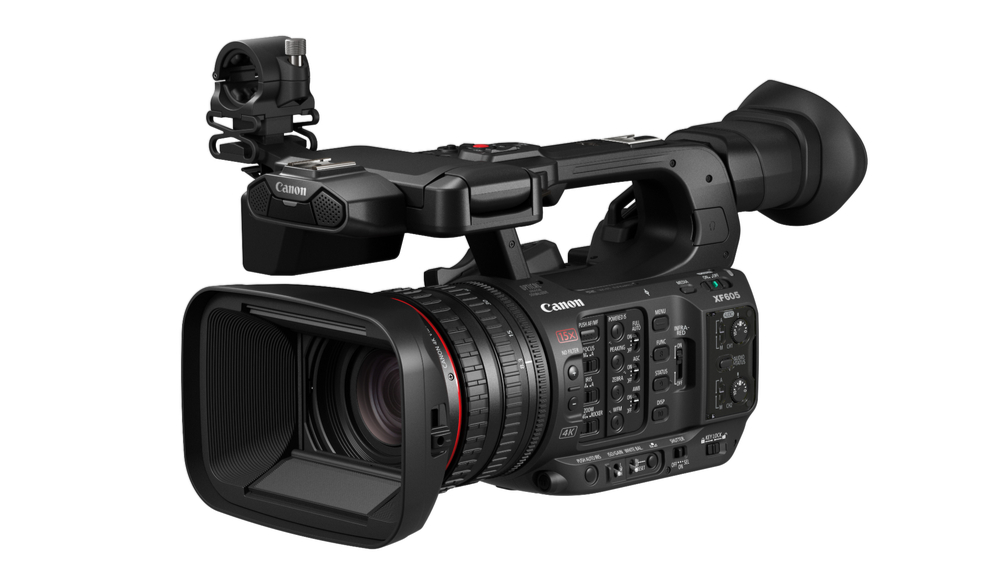 If Anyone Is Still Buying Camcorders, Here's a New 4K One from Canon