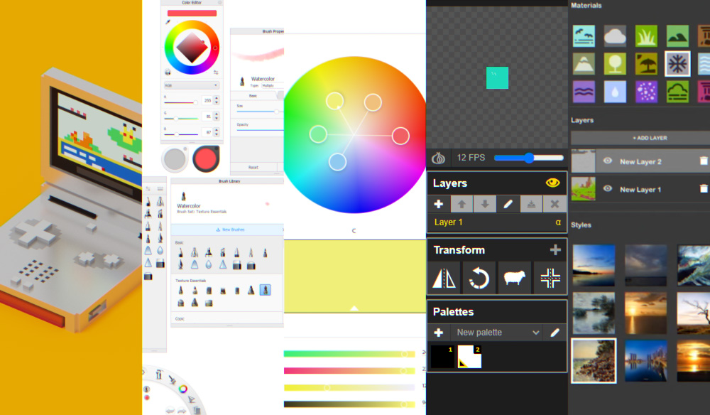 5 FREE Programs to Get Your Creative Juices Flowing