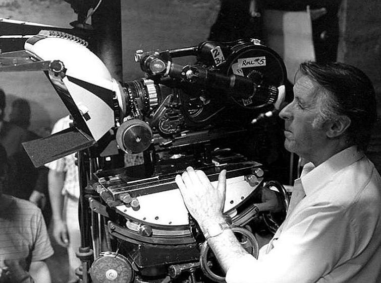 Freddie Francis Filming Elephant Man