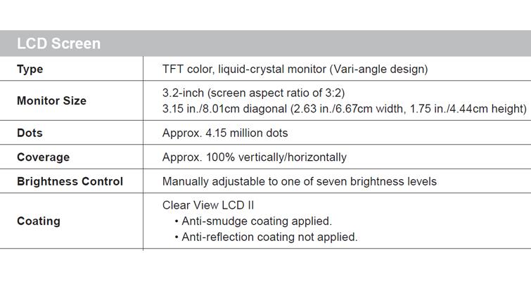 LCD Information