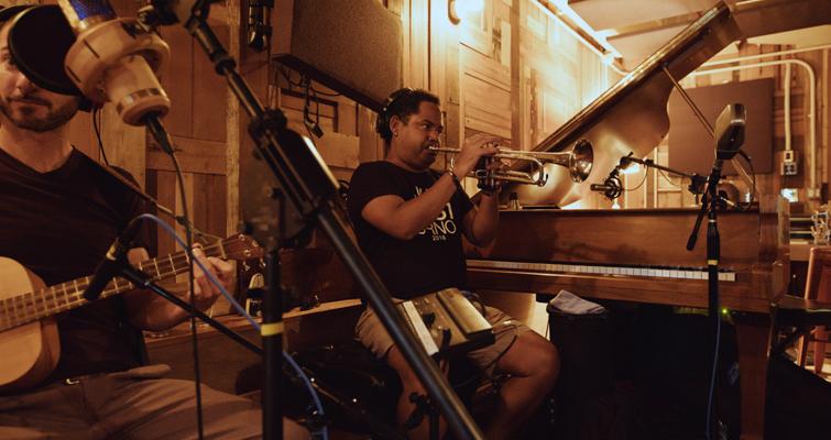 In-Studio Recording